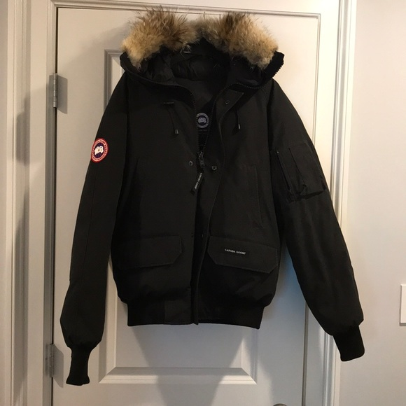 canada goose jacket with fur hood